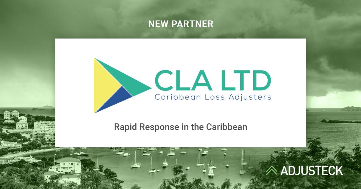 NEW PARTNER LOGO Caribbean Loss Adjusters Rapid Response in the Caribbean Adjusteck logo